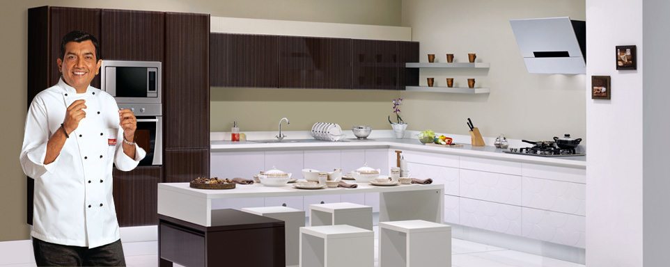 Modern Kitchen Modular delighful modern kitchen modular cabinet design with white